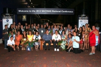 UH Students at the 2013 Society for the Advancement of Chicanos and Native Americans in Science (SACNAS) National Conference in San Antonio, Texas.