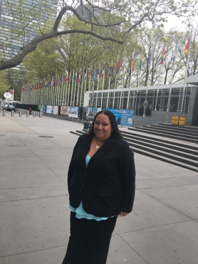 Narissa Spies Travels To NY To Speak About Ocean Protections
