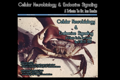 The Cellular Neurobiology & Endocrine Signaling Symposium website, honoring Dr. Ian Cooke.